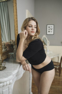 Réjeanne Black Callie Hipster Panty