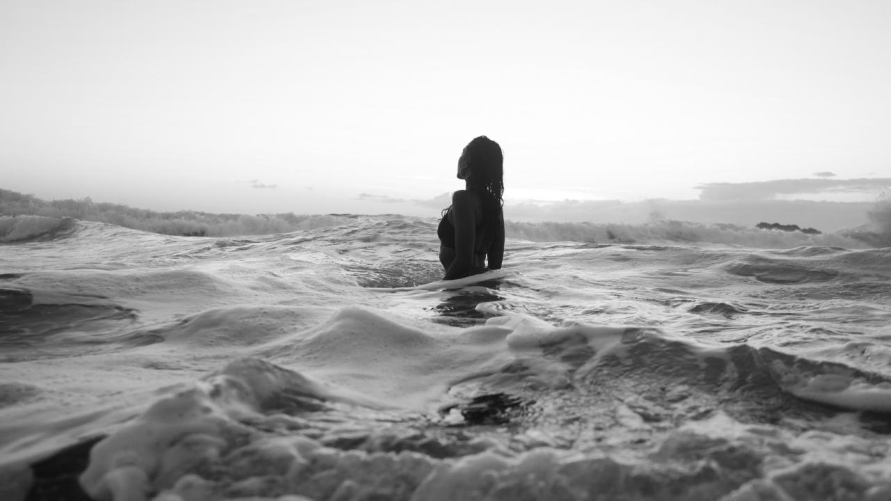 Réjeanne Se baigner pendant les règles